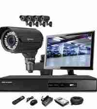 1080P HD Security Cameras 8 Varifocal Cameras Package