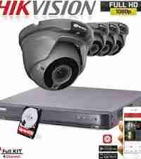 720P HD Security Cameras 4 Varifocal Cameras Package
