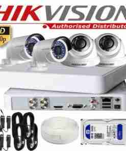 720P HD Security Cameras 8 Varifocal Cameras Package