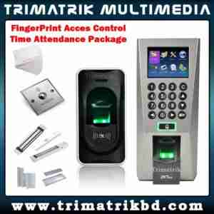 Door Access Control-Biometric in, Biometric Out Package