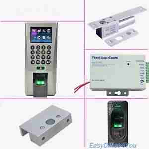 Door Access Control-Biometric in, Exit Button Out Package