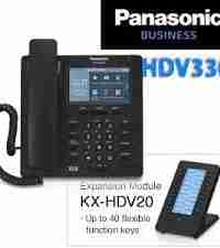 Hybrid IP Panasonic NS500 PBX + 20 IP Phones package