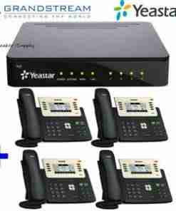 Yeastar PBX with Yealink 10 IP Phones Package