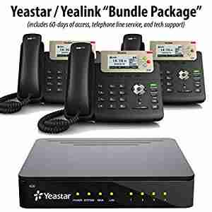 Yeastar PBX with Yealink 20 IP Phones Package